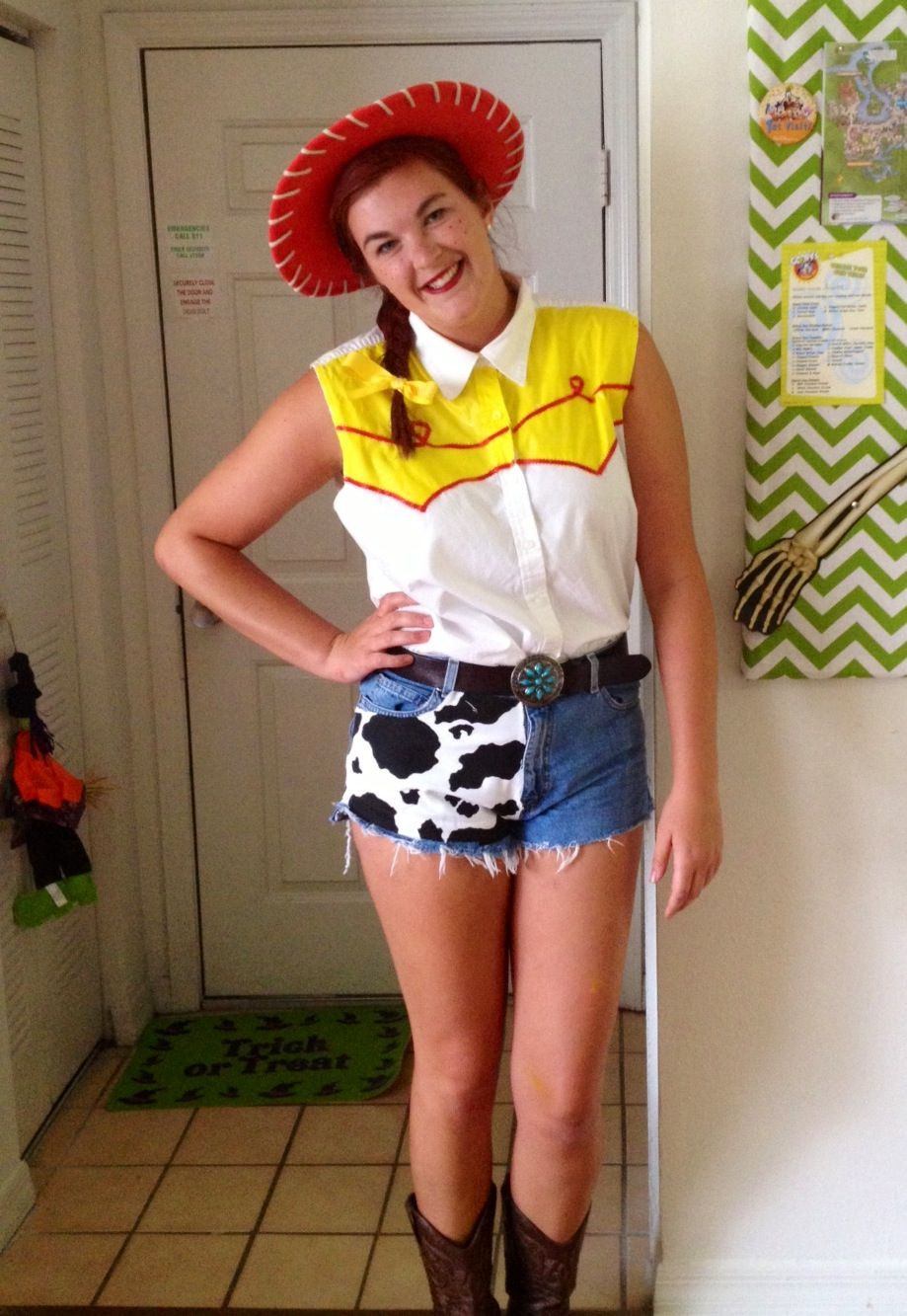 Best ideas about Jessie Toy Story Costume DIY . Save or Pin Jessie from Toy Story homemade costume Now.