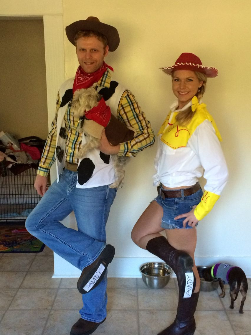 Best ideas about Jessie Toy Story Costume DIY . Save or Pin Woody Jessie and Bullseye costumes Toy Story costumes Now.