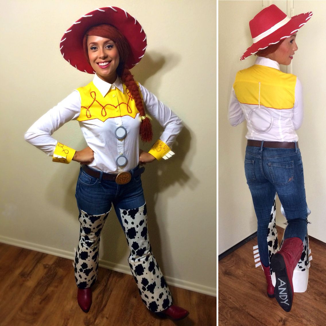 Best ideas about Jessie Toy Story Costume DIY . Save or Pin Went all out this year and made my own DIY Jessie The Now.