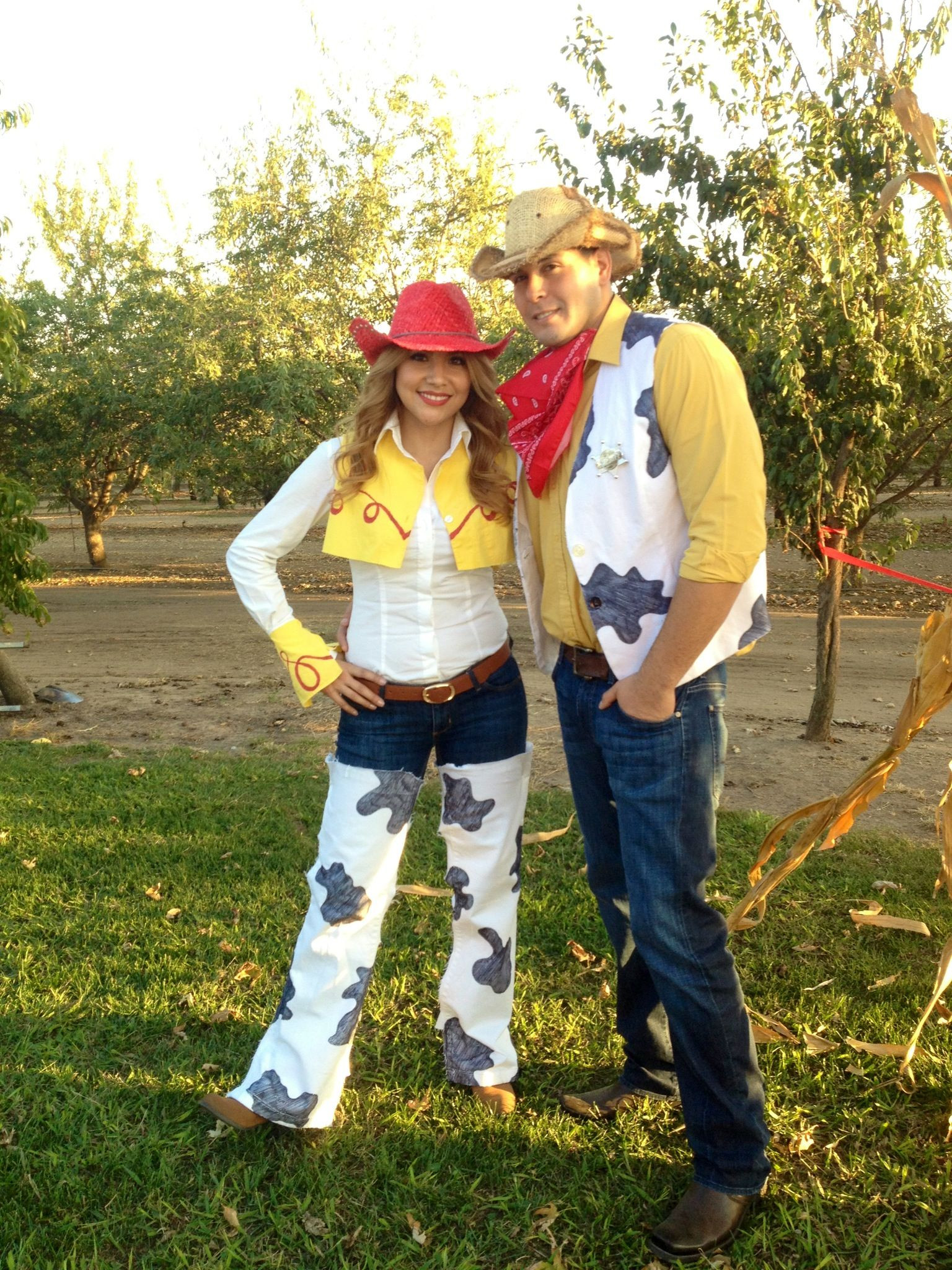Best ideas about Jessie Toy Story Costume DIY . Save or Pin DIY Jessie and Woody Costumes Now.