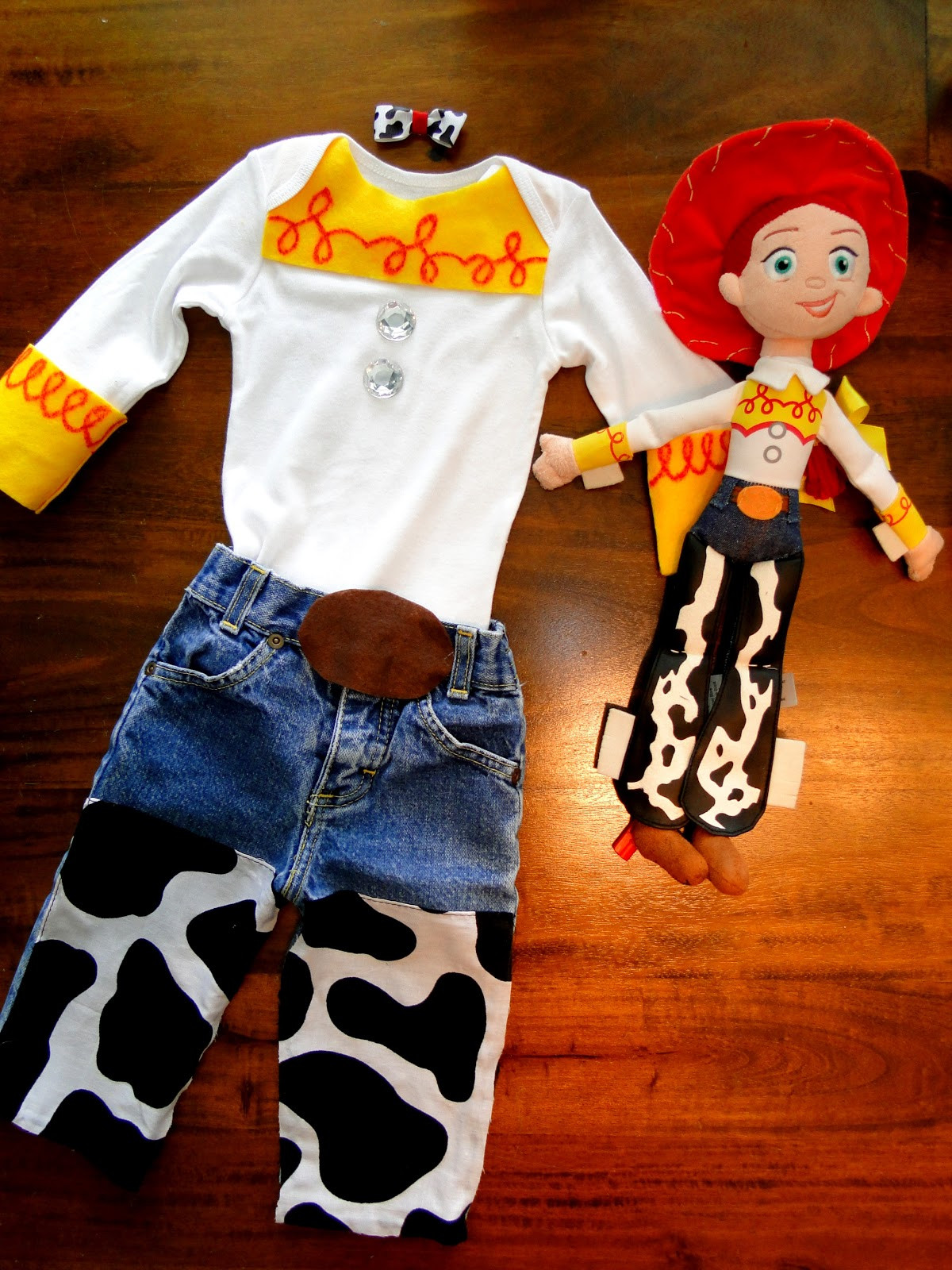 Best ideas about Jessie Toy Story Costume DIY . Save or Pin Tricks of the Mommy Trade DIY Jessie Costume Now.