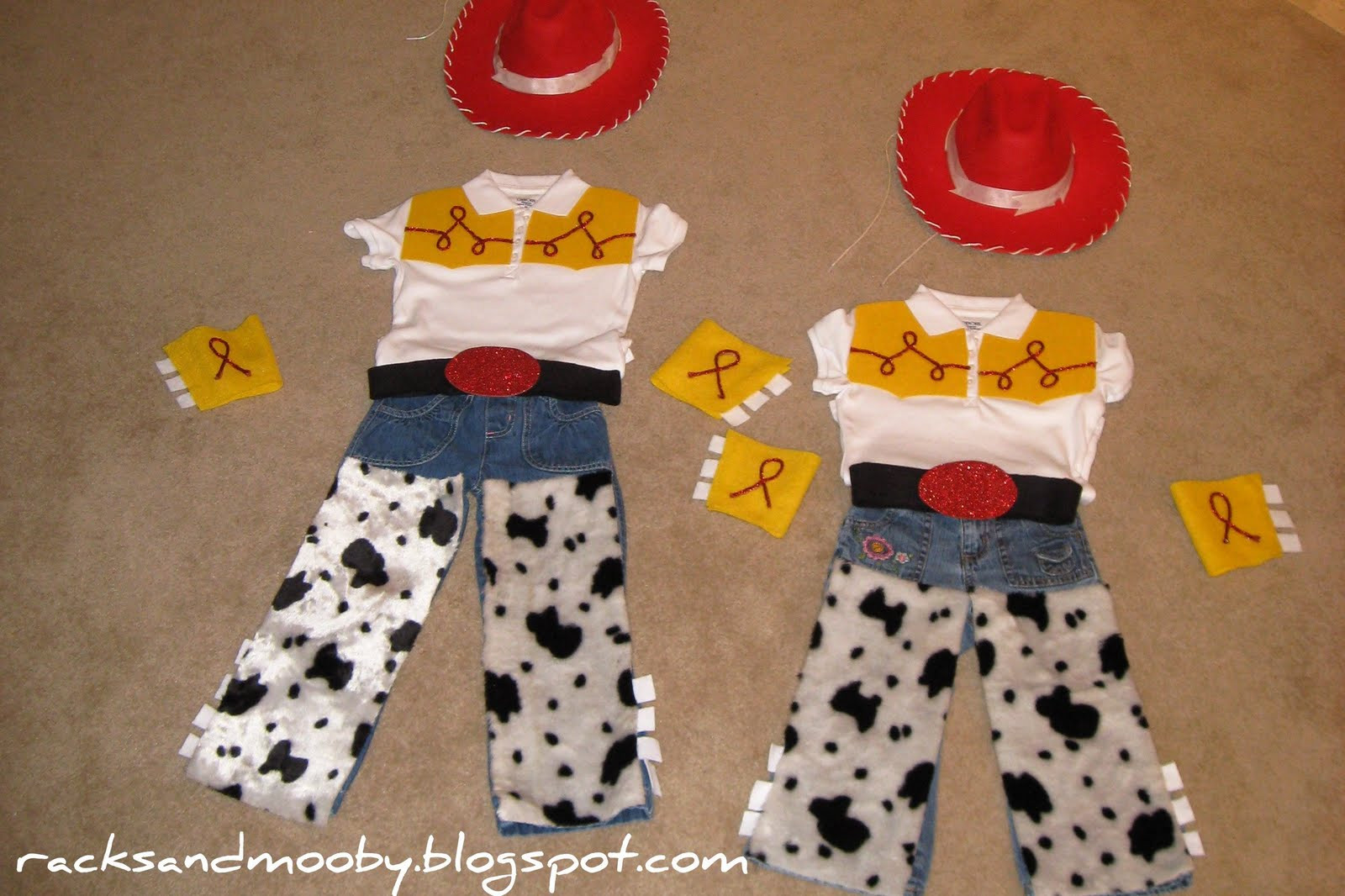 Best ideas about Jessie Toy Story Costume DIY . Save or Pin RACKS and Mooby DIY Jessie Toy Story Toddler Costume Now.