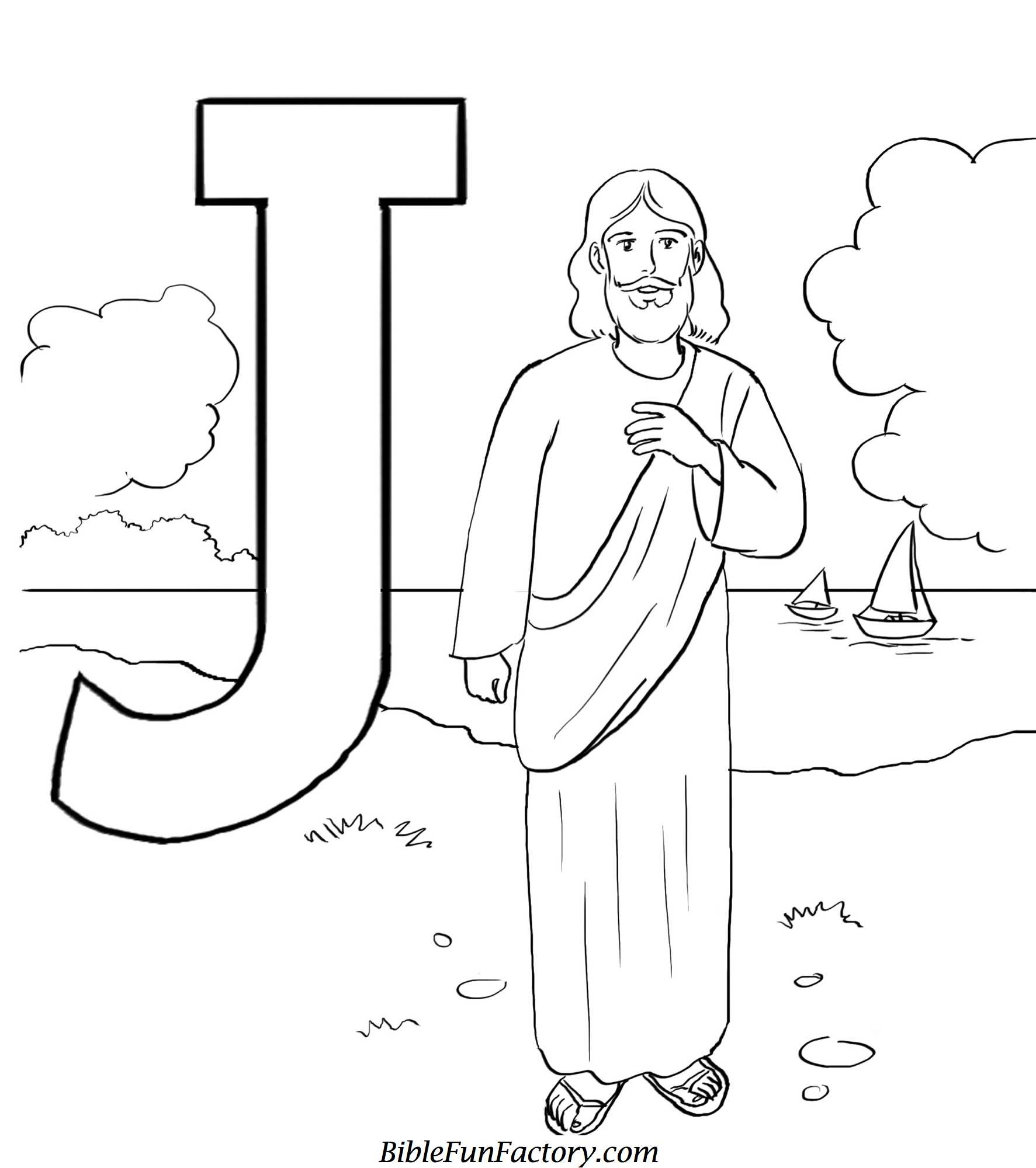Best ideas about Jesus Coloring Pages For Kids Printable . Save or Pin Free Jesus Coloring Pages Bible Lessons Games and Now.