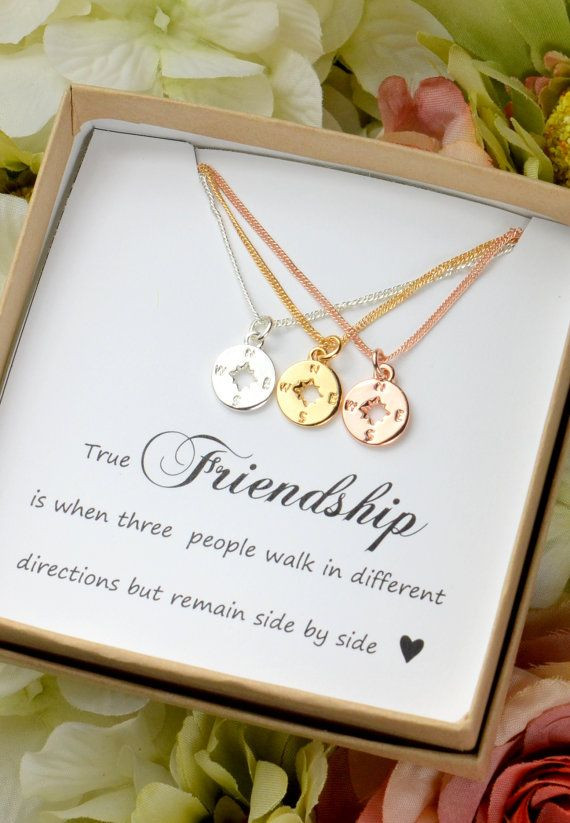 Best ideas about Jewelry Gift Ideas . Save or Pin Best 25 3 best friends ts ideas on Pinterest Now.