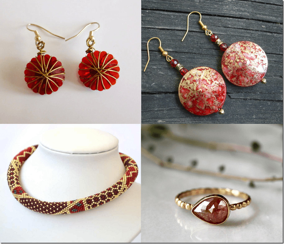 Best ideas about Jewelry Gift Ideas . Save or Pin Fashionista NOW 10 Gold And Red Jewelry Gift Ideas For Now.