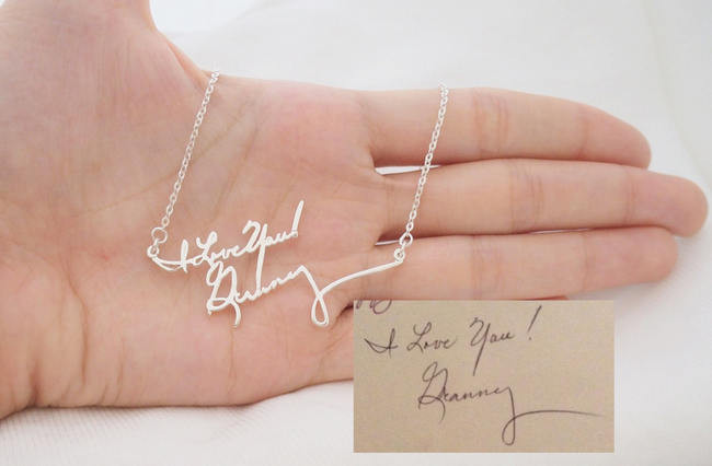 Best ideas about Jewelry Gift Ideas . Save or Pin 14 Amazing Handwritten Jewelry Gift Ideas Using Your Now.