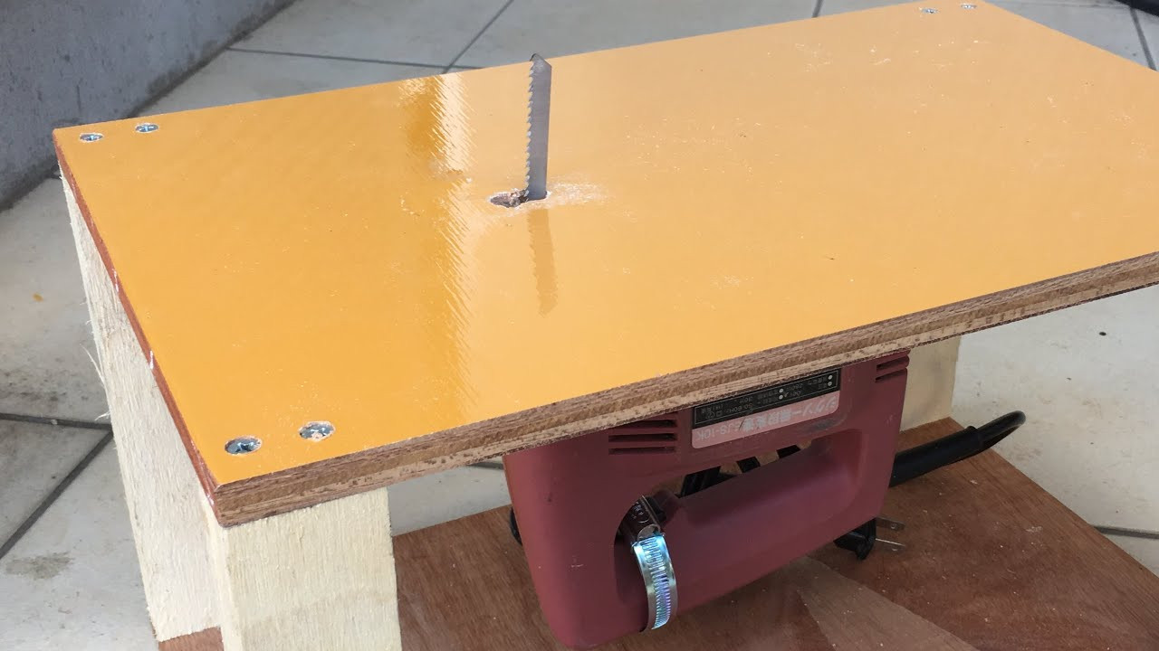 Best ideas about Jigsaw Table DIY . Save or Pin DIY ジグソーテーブルの作り方 Making Jigsaw table Now.