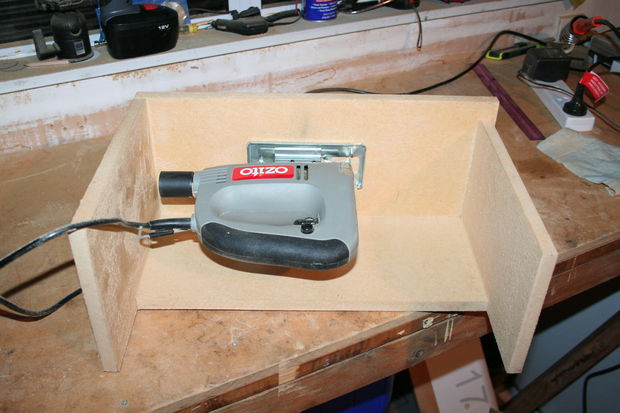 Best ideas about Jigsaw Table DIY . Save or Pin Inverted upside down jigsaw bandsaw All Now.