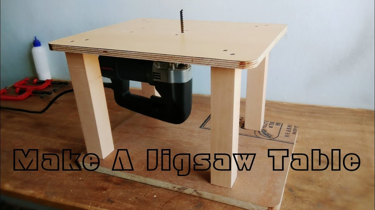 Best ideas about Jigsaw Table DIY . Save or Pin Homemade Jigsaw Table Machine DIY Jigsaw Table Now.