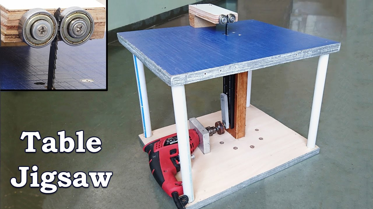 Best ideas about Jigsaw Table DIY . Save or Pin How to Make a Table Jigsaw at Home Now.