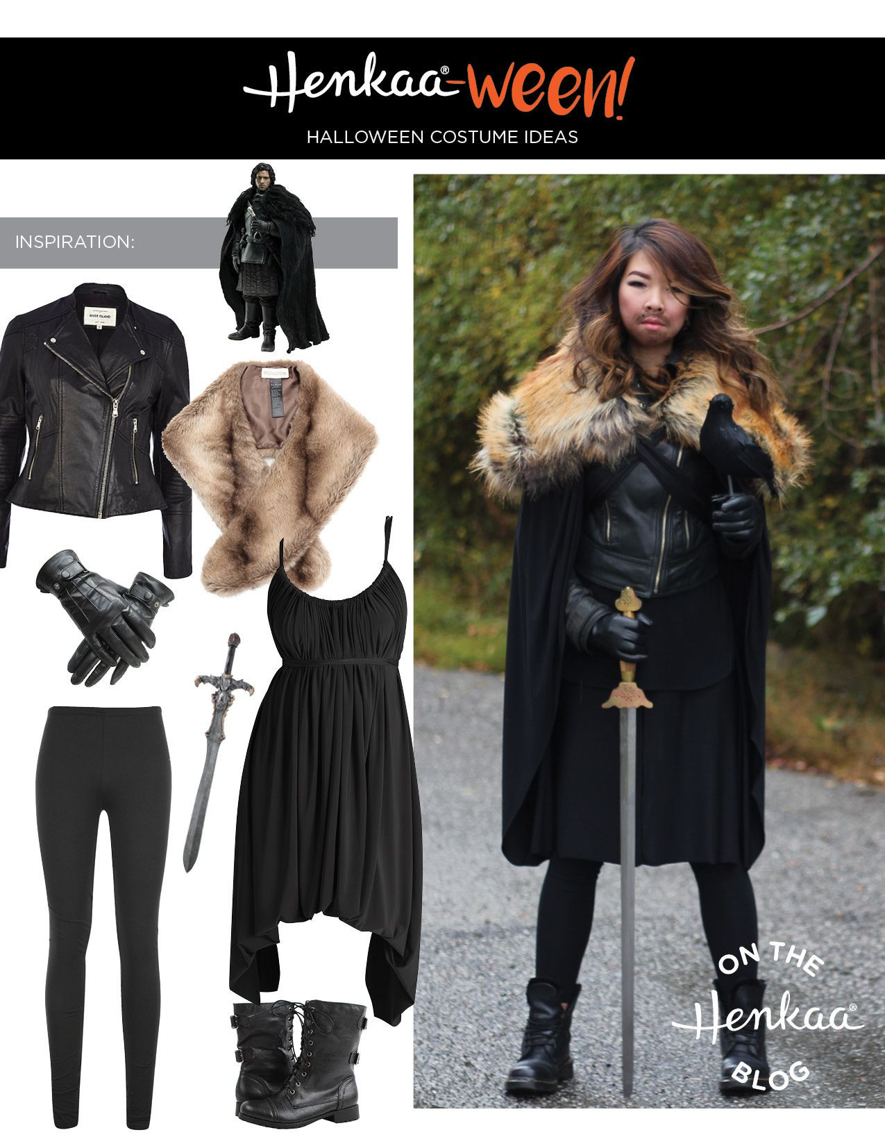 Best ideas about Jon Snow DIY Costume . Save or Pin Halloween Costume Jon Snow from Game of Thrones Now.