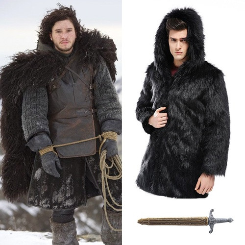 Best ideas about Jon Snow DIY Costume . Save or Pin Men Halloween Costumes 2017 — Pop Culture Ideas DIY and Now.