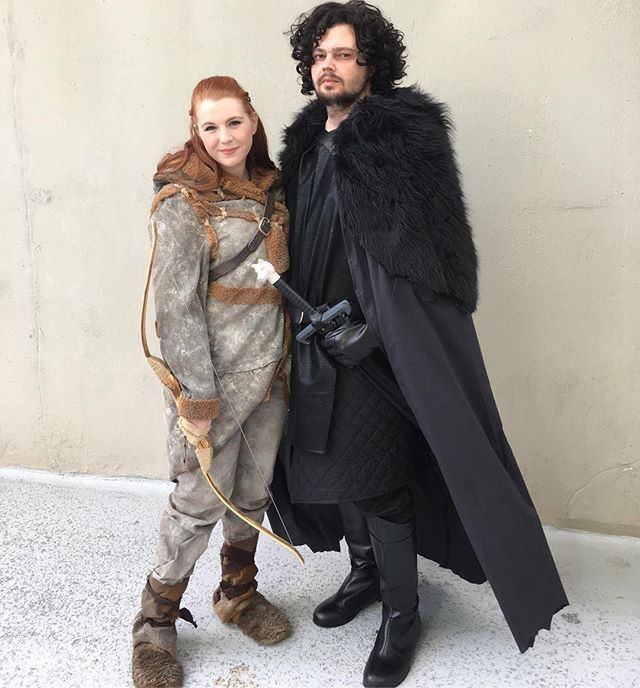 Best ideas about Jon Snow DIY Costume . Save or Pin 21 Sweet Game of Thrones Costume Ideas For Couples Now.