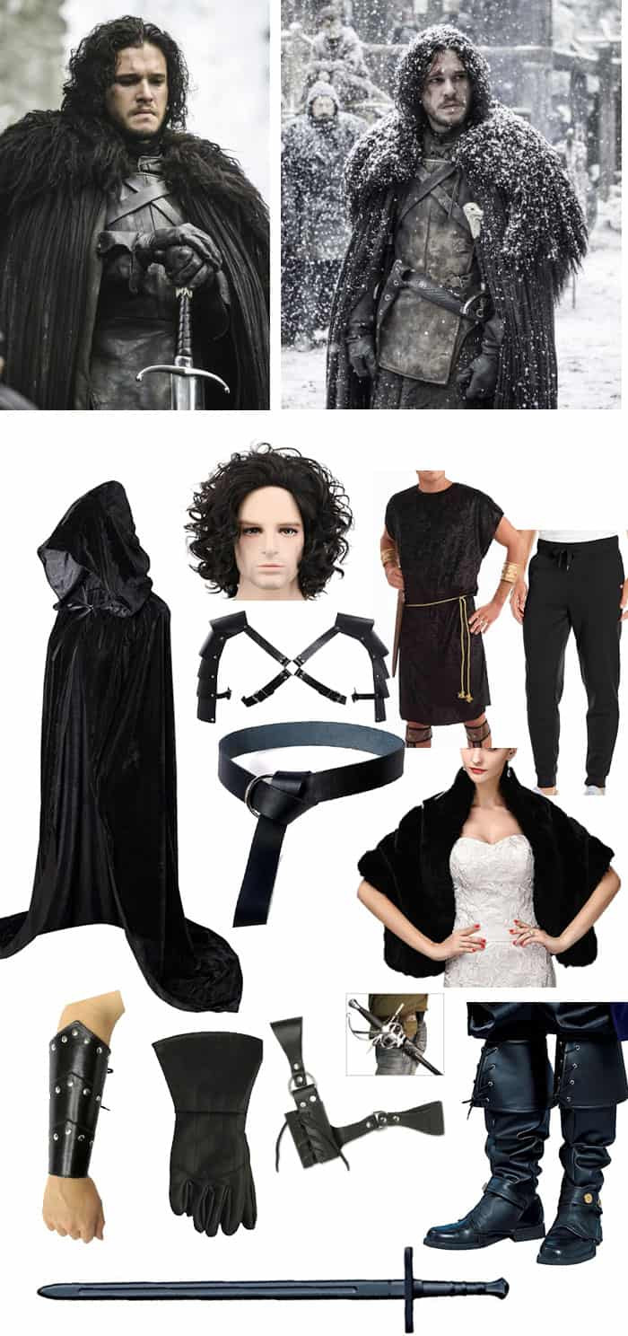 Best ideas about Jon Snow DIY Costume . Save or Pin 5 Halloween Costumes You Can Make From Amazon Now.