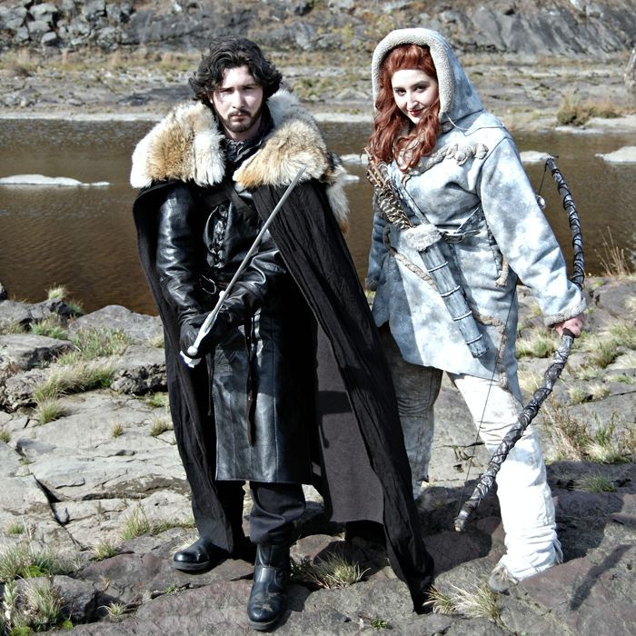 Best ideas about Jon Snow DIY Costume . Save or Pin Jon Snow & Ygritte COSPLAY Now.