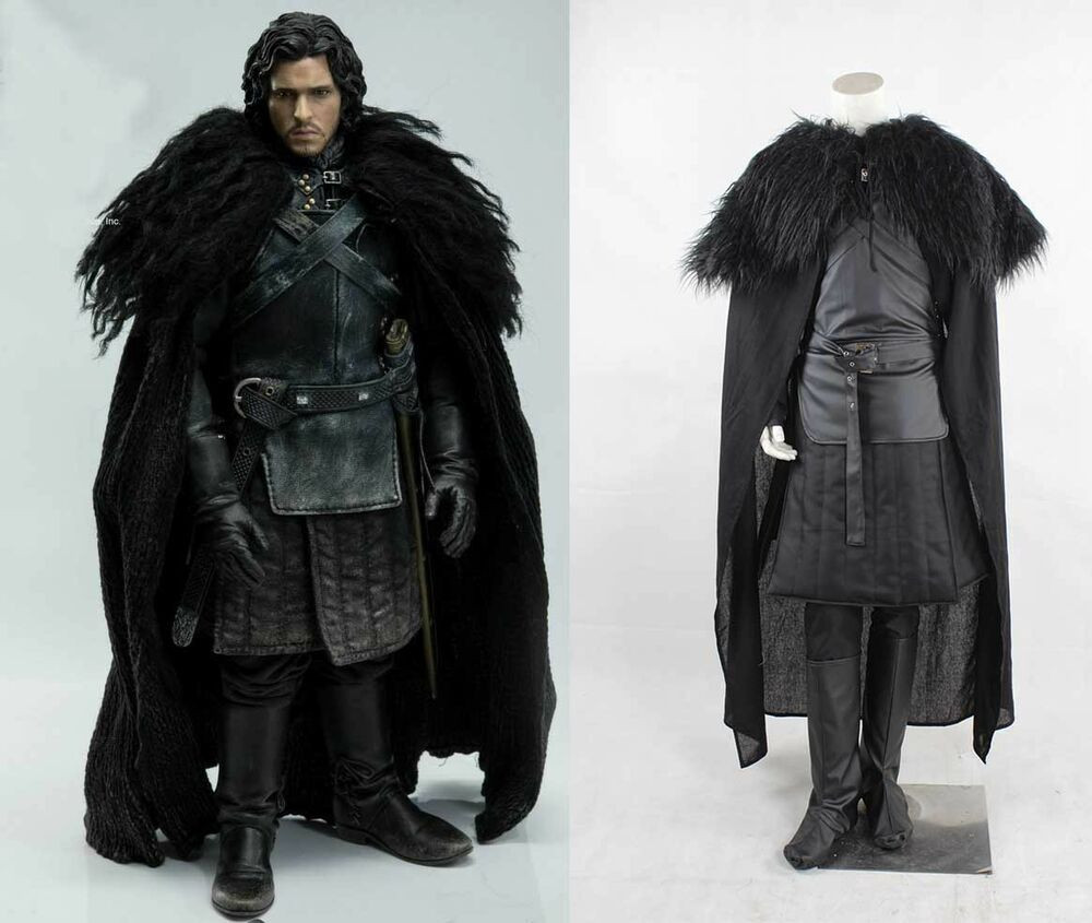 Best ideas about Jon Snow DIY Costume . Save or Pin Newest Halloween Adult Game of Thrones Cosplay Costume Jon Now.