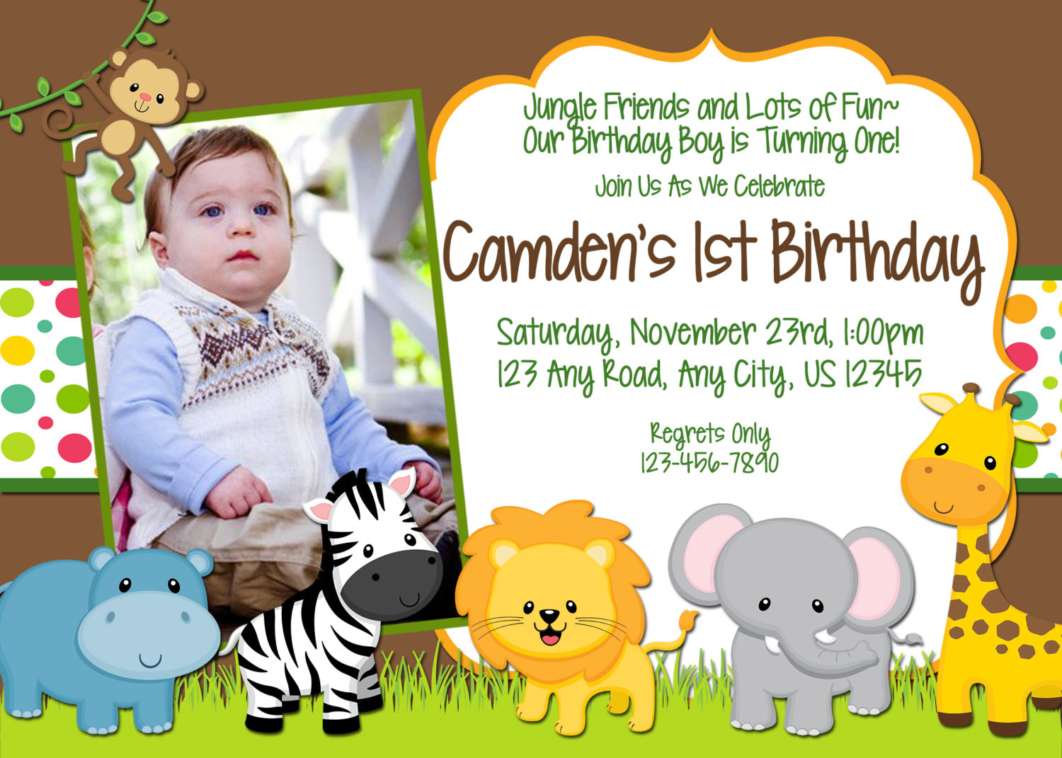 Best ideas about Jungle Theme Birthday Invitations . Save or Pin Chandeliers & Pendant Lights Now.