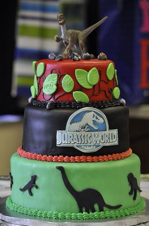 Best ideas about Jurassic World Birthday Cake . Save or Pin 1000 images about Dylans 8th bday on Pinterest Now.