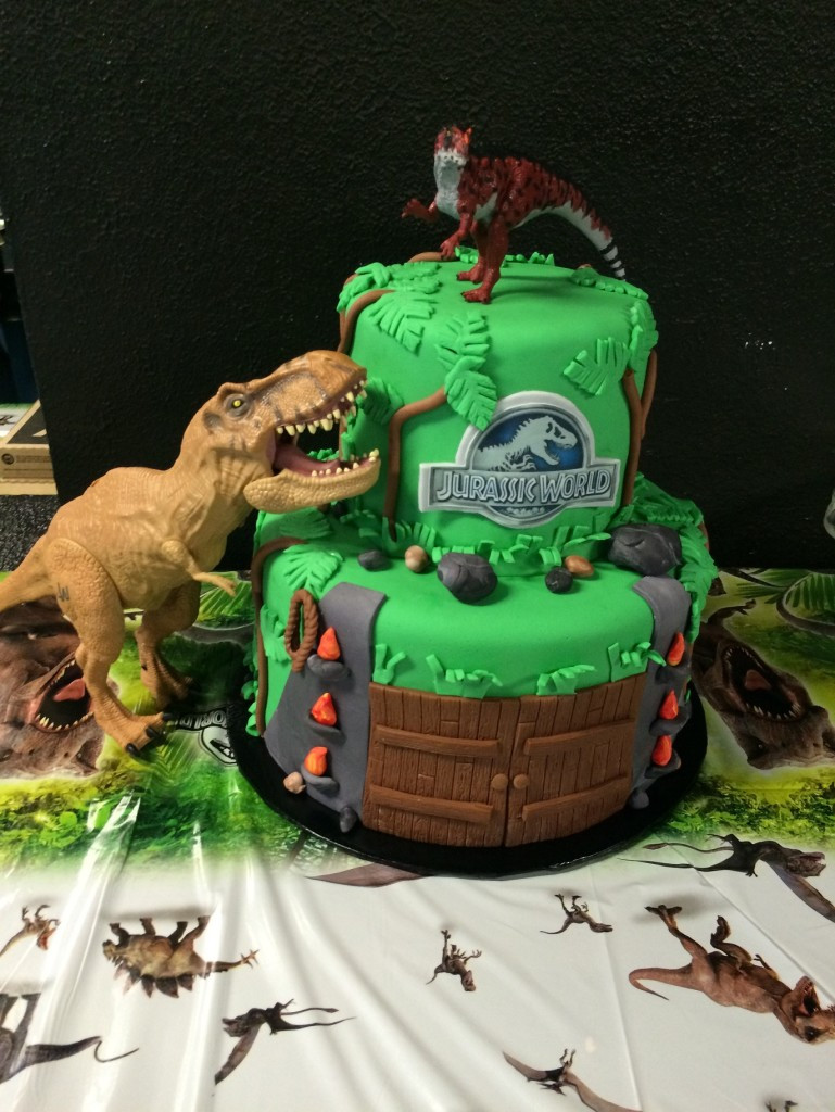 Best ideas about Jurassic World Birthday Cake . Save or Pin Roaring Jurassic World Birthday Party Counting Candles Now.