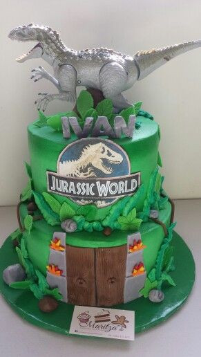 Best ideas about Jurassic World Birthday Cake . Save or Pin Jurassic world cake Pasteles de cumpleaños Now.