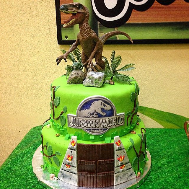 Best ideas about Jurassic World Birthday Cake . Save or Pin Jurassic World Cake JurassicWorldCake Velociraptor Now.