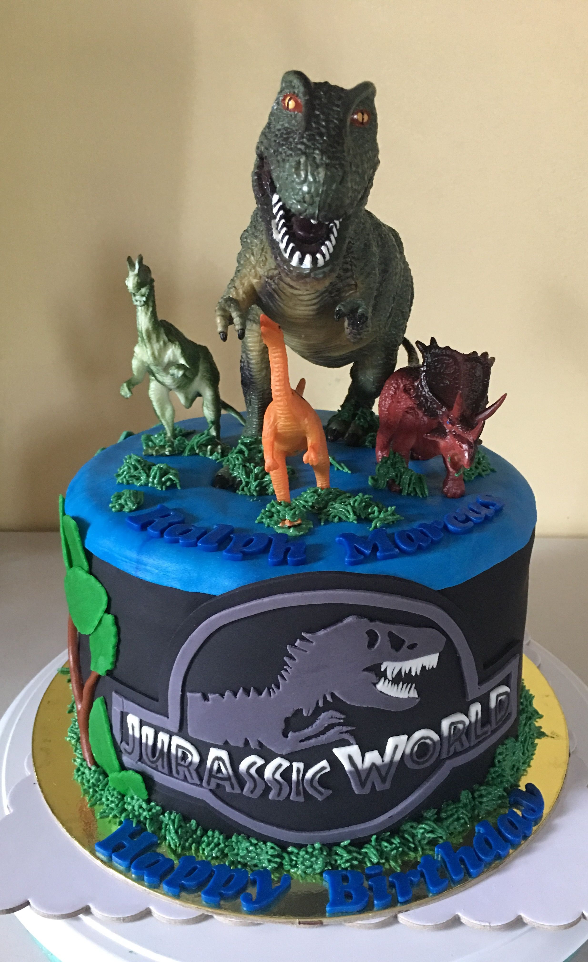 Best ideas about Jurassic World Birthday Cake . Save or Pin Jurassic World Cake Belle s Sweet Treats Now.