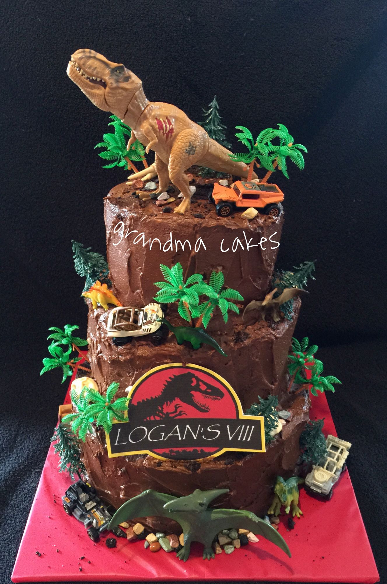 Best ideas about Jurassic World Birthday Cake . Save or Pin Jurassic World Park cake Cakes Now.