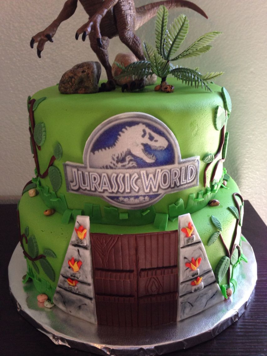 Best ideas about Jurassic World Birthday Cake . Save or Pin Jurassic World Cake Jurassic world Now.