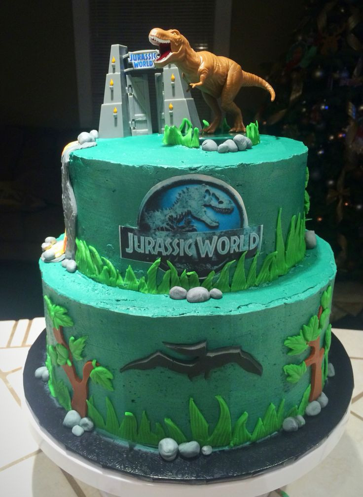 Best ideas about Jurassic World Birthday Cake . Save or Pin 62 best Jurassic Park Dinosaur Party images on Pinterest Now.