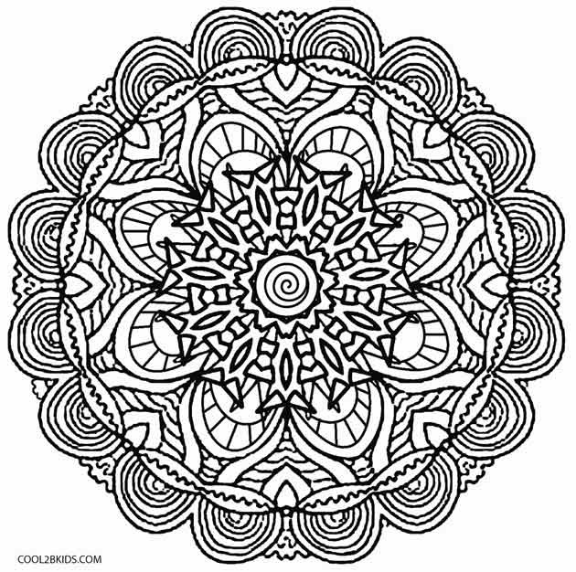 Best ideas about Kaleidoscope Printable Coloring Pages . Save or Pin Printable Kaleidoscope Coloring Pages For Kids Now.