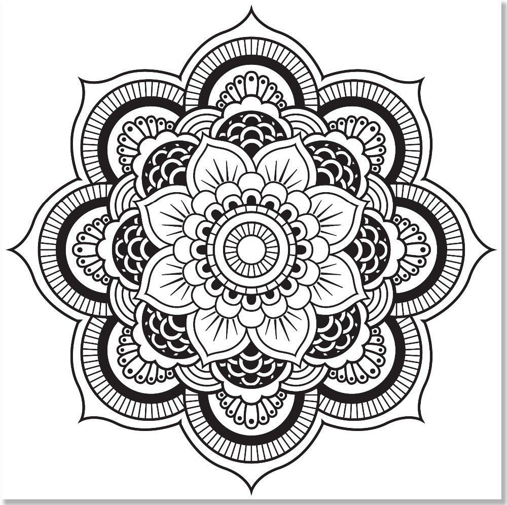 Best ideas about Kaleidoscope Printable Coloring Pages . Save or Pin Kaleidoscope Coloring Page Coloring Home Now.