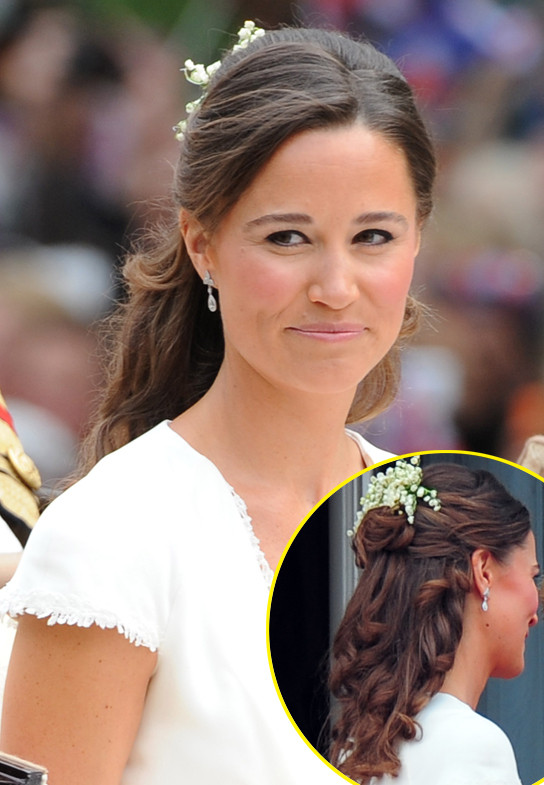 Best ideas about Kate Middleton Wedding Hairstyles . Save or Pin Pippa Middleton s Royal Wedding Hair — How You Can Create Now.