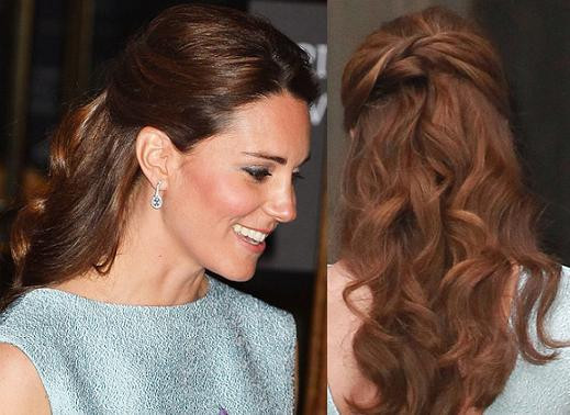 Best ideas about Kate Middleton Wedding Hairstyles . Save or Pin TREND SUMMER HAIRSTYLE Kate Middleton s half up curls Now.