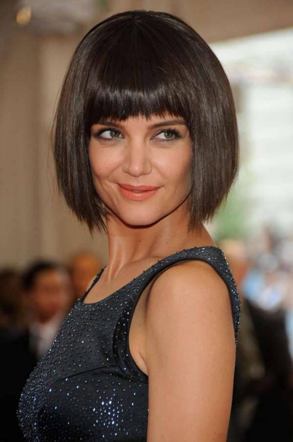 Best ideas about Katie Holmes Bob Hair Cut . Save or Pin 10 Inverted Bob Hairstyle Designs Ideas Now.