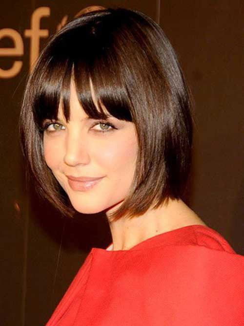 Best ideas about Katie Holmes Bob Hair Cut . Save or Pin 15 Katie Holmes Bob Cuts Now.