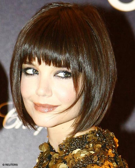 Best ideas about Katie Holmes Bob Hair Cut . Save or Pin Katie Holmes and daughter sport look a like Posh bobs Now.