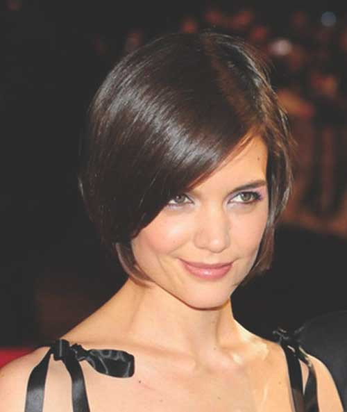 Best ideas about Katie Holmes Bob Hair Cut . Save or Pin 18 Sleek Katie Holmes Bob Haircuts crazyforus Now.