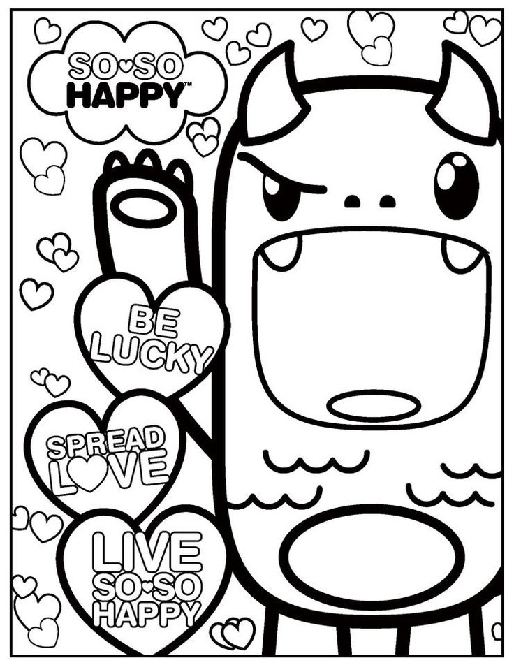 Best ideas about Kawaii Printable Coloring Pages For Girls . Save or Pin Kawaii Coloring Pages AZ Coloring Pages Now.