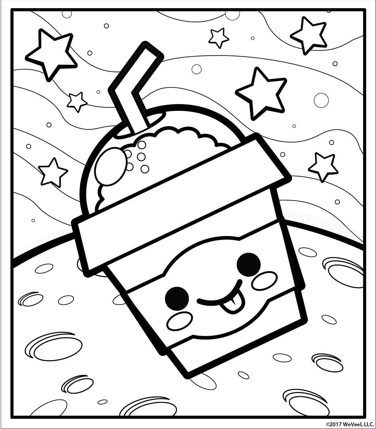 Best ideas about Kawaii Printable Coloring Pages For Girls . Save or Pin Cute girl coloring pages to and print for free Now.