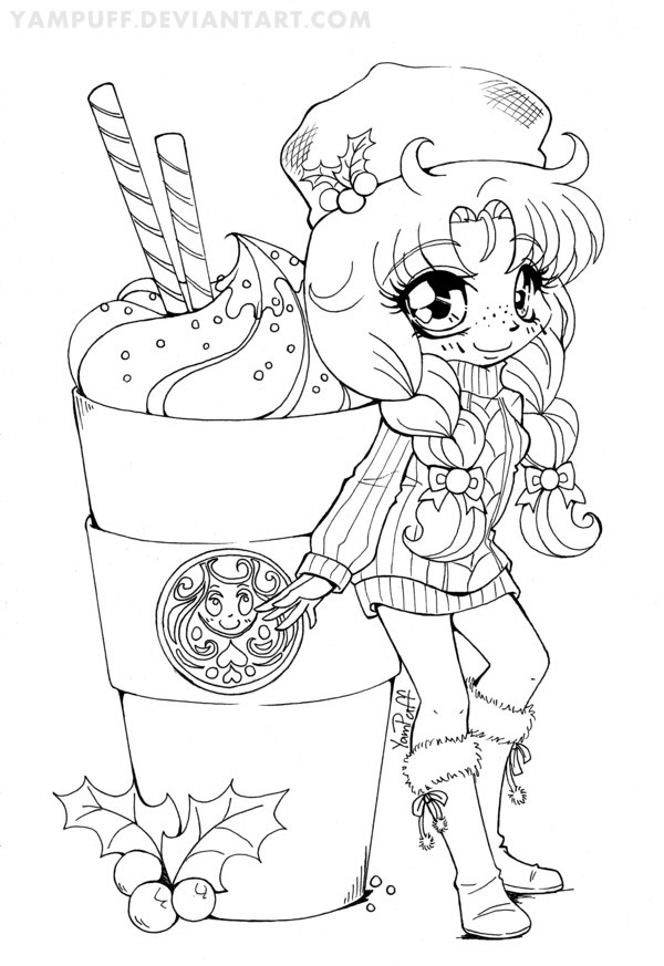 Best ideas about Kawaii Printable Coloring Pages For Girls . Save or Pin Cute Kawaii Food Coloring Pages Coloring Home Now.