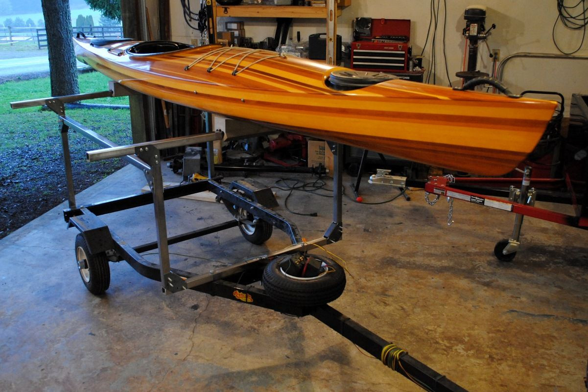 Best ideas about Kayak Rack For Trailer DIY . Save or Pin The first Kayak Trailer rack built using the DIY No Weld Now.