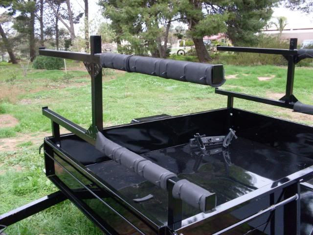 Best ideas about Kayak Rack For Trailer DIY . Save or Pin kayak trailer idea to fit in my trailer Now.