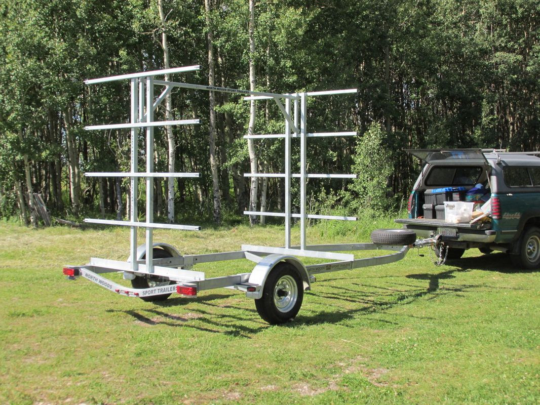 Best ideas about Kayak Rack For Trailer DIY . Save or Pin 10 place canoe 20 Kayak 20 SUP trailer with low profile Now.