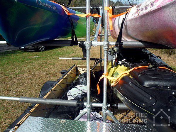 Best ideas about Kayak Rack For Trailer DIY . Save or Pin 72 best Kayak Trailer DIY images on Pinterest Now.