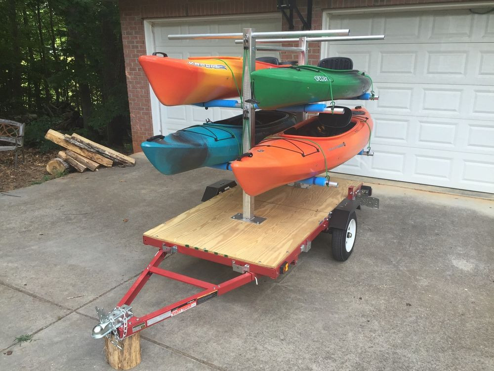 Best ideas about Kayak Rack For Trailer DIY . Save or Pin CarriCo Watersports Kayak Carrier Rack Canoes Boats Now.