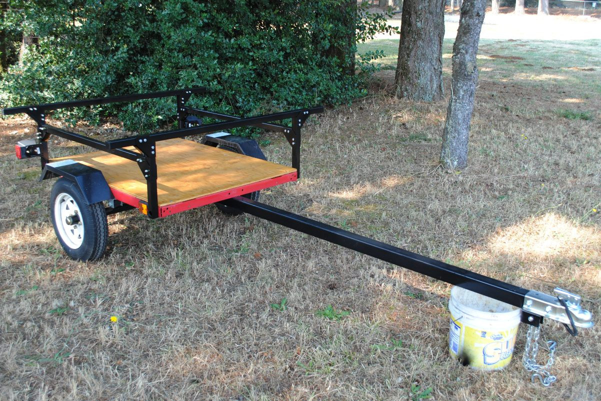 Best ideas about Kayak Rack For Trailer DIY . Save or Pin Making a Kayak Trailer for under $500 Now.