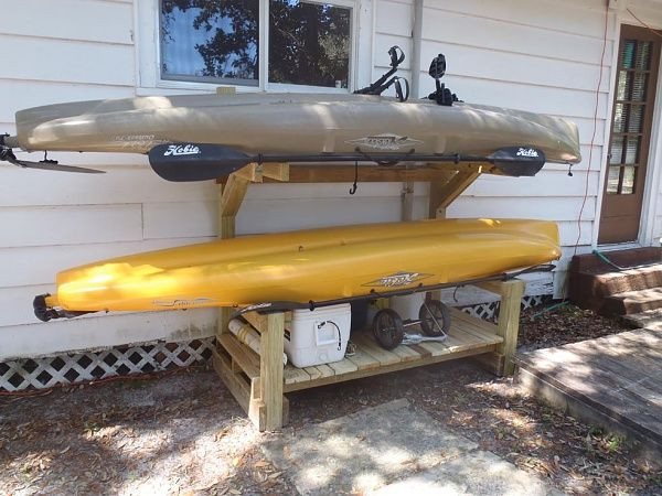 Best ideas about Kayak Storage Rack DIY . Save or Pin 25 best ideas about Kayak Rack on Pinterest Now.