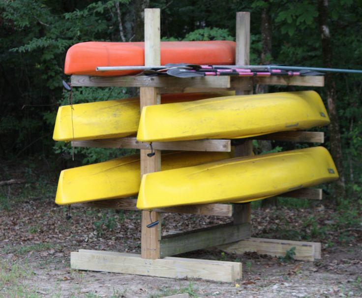 Best ideas about Kayak Storage Rack DIY . Save or Pin Best 25 Kayak rack ideas on Pinterest Now.