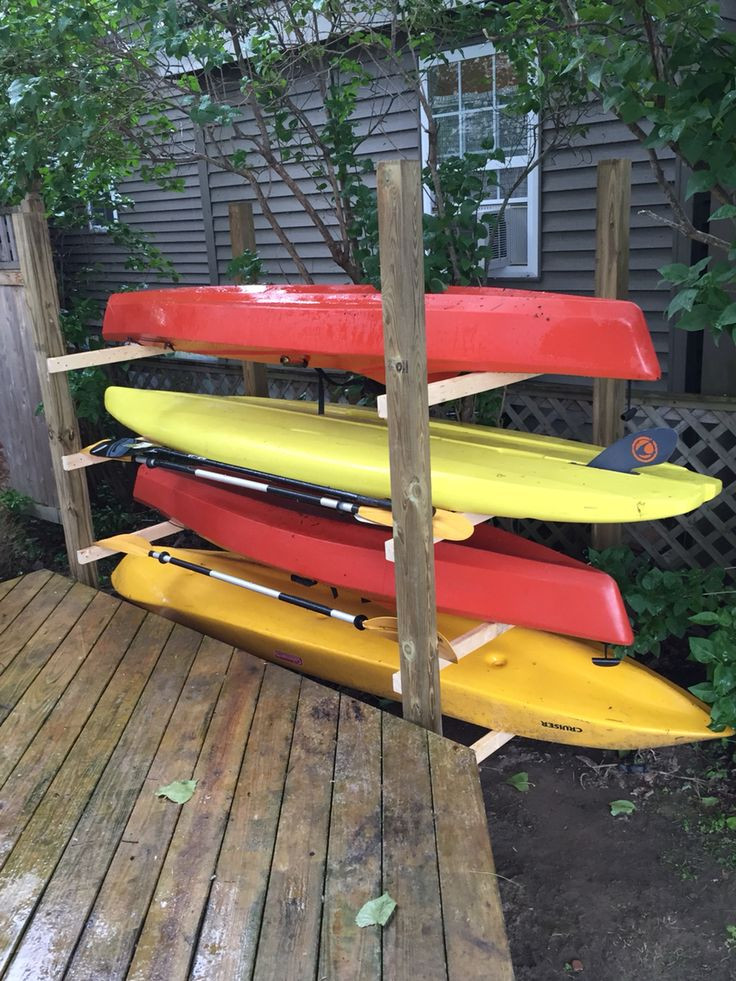 Best ideas about Kayak Storage Rack DIY . Save or Pin Best 25 Kayak storage rack ideas on Pinterest Now.