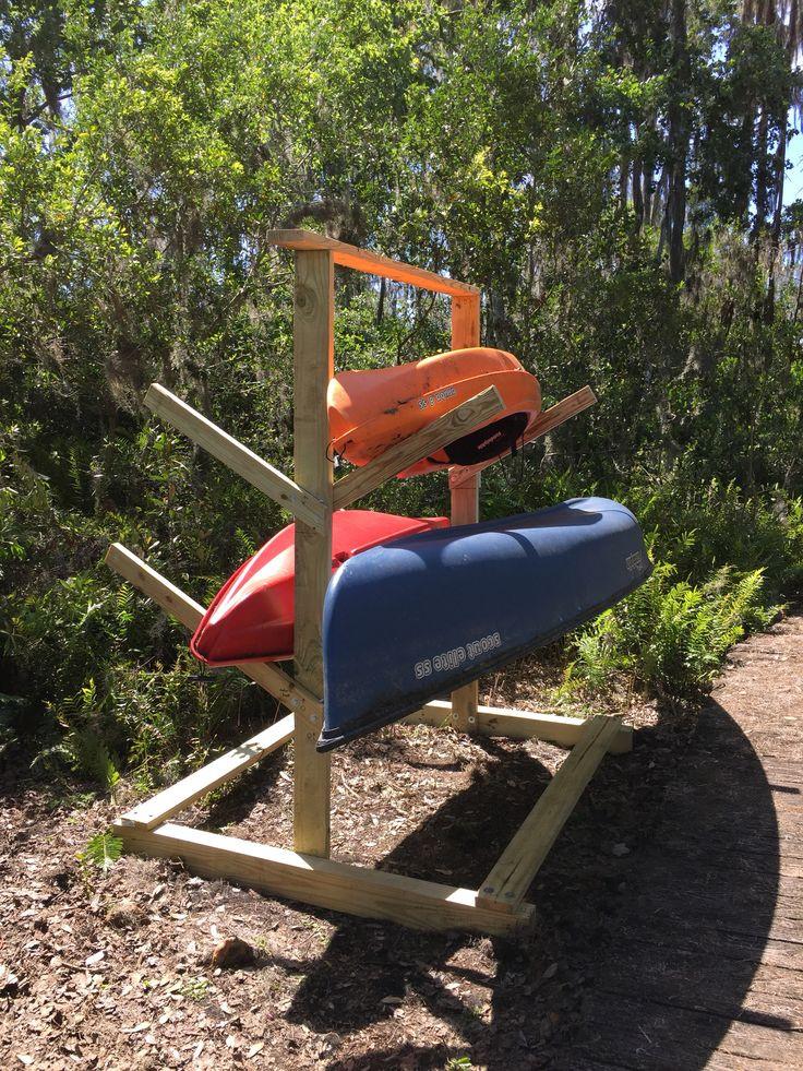 Best ideas about Kayak Storage Rack DIY . Save or Pin Best 25 Canoe storage ideas on Pinterest Now.
